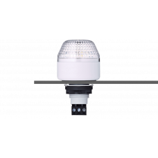 ITM светодиодный разноцветный маячок с креплением на панели M22 110-120 V AC, серый