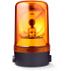 MRS проблесковый маячок с вращающимся зеркалом Оранжевый 230-240 V AC, Горизонтальный