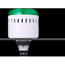 ELG сирена с креплением на панели с контрольным светодиодом Зеленый серый, 12 V AC/DC