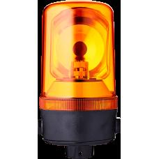 MRL проблесковый маячок с вращающимся зеркалом Оранжевый 110-120 V AC, Трубка NPT 1/2