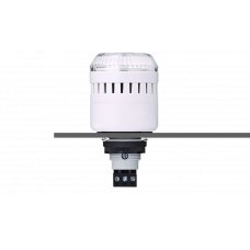 ELM сирена с креплением на панели с контрольным светодиодом Белый 24 V AC/DC, серый