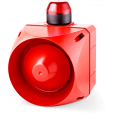 ADL многотональная сирена со встроенным светодиодным индикатором Красный 24 V AC/DC