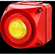 ADS-P многотональная сирена со встроенным светодиодным индикатором Желтый 24 V AC/DC