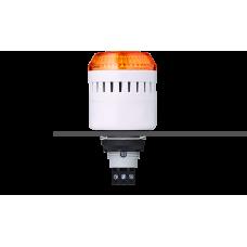 EDM сирена с креплением на панели с контрольным светодиодом Оранжевый серый, 12 V AC/DC