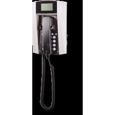 wFT3-IP VoIP телефон, всепогодный Серый Спиральный шнур