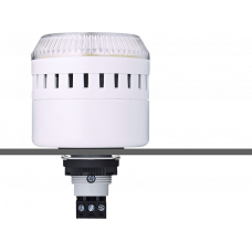 EDG сирена с креплением на панели с контрольным светодиодом Белый 110-120 V AC, серый