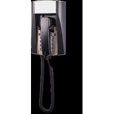 dFT3 взрывозащищенный аналоговый телефон Черный Спиральный шнур, Без дисплея