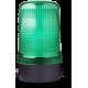 MFS ксеноновый стробоскопический маячок Зеленый 110-120 V AC, горизонтальный