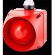 ADX многотональная сирена со встроенным светодиодным индикатором Белый 24 V AC/DC