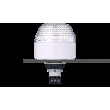 ISL ксеноновый стробоскопический маячок с креплением на панели M22 Белый 12-24 V AC/DC, серый