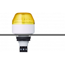 ISM ксеноновый стробоскопический маячок с креплением на панели M22 Желтый 110-120 V AC, серый