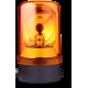 MRS проблесковый маячок с вращающимся зеркалом Оранжевый 24 V AC/DC, Горизонтальный