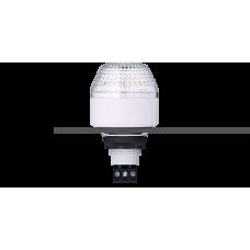 IBM светодиодный маячок с постоянным/мигающим светом и креплением на панели M22 Белый 230-240 V AC, серый