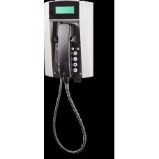wFT3 аналоговый телефон, всепогодный Серый Армированный шнур, С клавиатурой, С дисплеем