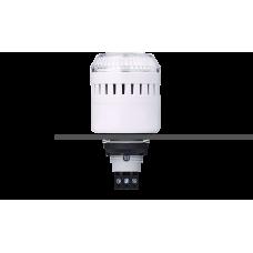 EDM сирена с креплением на панели с контрольным светодиодом Белый серый, 110-120 V AC