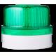 FLG ксеноновый стробоскопический маячок Зеленый серый, 24 V AC/DC