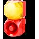 Комбинированный свето-звуковой оповещатель ASM+QDM Желтый 120-240 V AC, 120-240 V AC