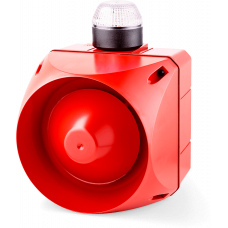 ACL многотональная сирена со встроенным светодиодным индикатором Белый 230-240 V AC