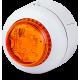 BC1 светодиодный проблесковый маячок Оранжевый белый