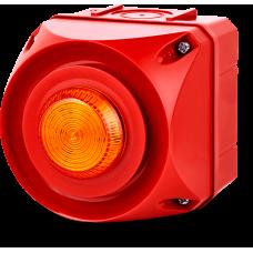 ADS-T многотональная сирена со встроенным светодиодным индикатором Оранжевый 24 V AC/DC