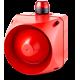 ACX многотональная сирена со встроенным светодиодным индикатором Красный 24 V AC/DC