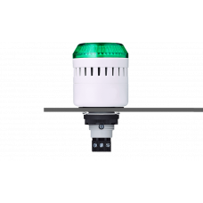 EDM сирена с креплением на панели с контрольным светодиодом Зеленый серый, 230-240 V AC