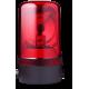 MRS проблесковый маячок с вращающимся зеркалом Красный 24 V AC/DC, Горизонтальный