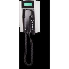 wFT3 аналоговый телефон, всепогодный Серый Спиральный шнур, С клавиатурой, С дисплеем
