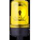 MRL проблесковый маячок с вращающимся зеркалом Желтый Трубка D 25 мм, 110-120 V AC