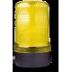 MLM маячок постоянного света Желтый горизонтальный, 110-120 V AC