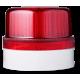 FLG ксеноновый стробоскопический маячок Красный 24 V AC/DC, серый