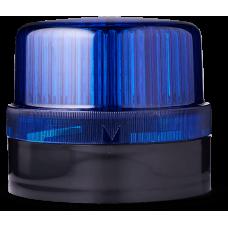 DLG светодиодный маячок постоянного света Синий 24 V AC/DC, черный