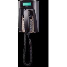 dFT3 взрывозащищенный аналоговый телефон Черный Спиральный шнур, С дисплеем