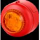 BC1 светодиодный проблесковый маячок Оранжевый красный