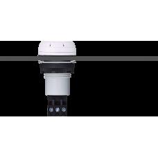 ESV звуковой сигнализатор с креплением на панели Серый 110-120 V DC