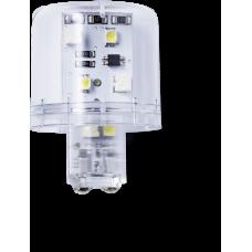 LLL Светодиодный маячок постоянного света 12 V AC/DC, прозрачный