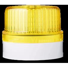 DLG светодиодный маячок постоянного света Желтый серый, 24 V AC/DC