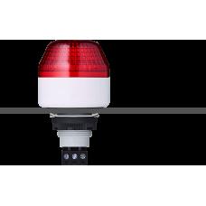 ICM светодиодный маячок с мульти-строб эффектом с креплением на панели M22 Красный 230-240 V AC, серый