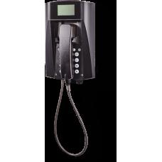 wFT3-IP VoIP телефон, всепогодный Черный Армированный шнур