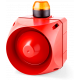 ACL многотональная сирена со встроенным светодиодным индикатором Оранжевый 24 V AC/DC