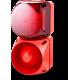 Комбинированный свето-звуковой оповещатель ASL+QDL Красный 110-240 V AC/DC, 24-48 V AC/DC