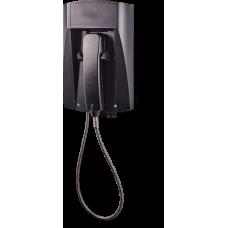 wFT3 аналоговый телефон, всепогодный Черный Армированный шнур, Без клавиатуры, Без дисплея
