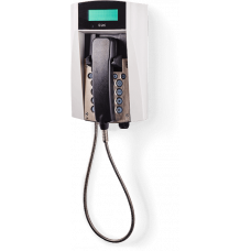 dFT3 взрывозащищенный аналоговый телефон Серый Армированный шнур, С дисплеем