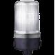 MLS маячок постоянного света Белый 24 V AC/DC, Трубка D 25 мм