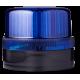 FLG ксеноновый стробоскопический маячок Синий черный, 110-120 V AC