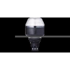 IDM светодиодный разноцветный маячок с креплением на панели M22 24 V AC/DC, черный