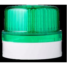 DLG светодиодный маячок постоянного света Зеленый серый, 24 V AC/DC