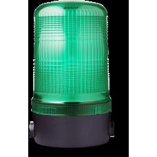 MFL ксеноновый стробоскопический маячок Зеленый 230-240 V AC, горизонтальный