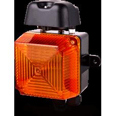 Аудиовизуальный сигнальный оповещатель для звонка Оранжевый