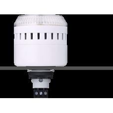 EDG сирена с креплением на панели с контрольным светодиодом Белый 12 V AC/DC, серый